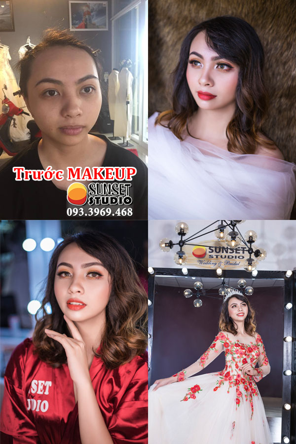 Xu hướng trang điểm makeup đẹp cô dâu, dự tiệc ở Tuy Hòa Phú Yên